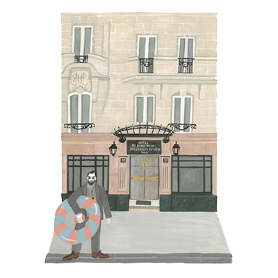 Hotel du Rond Point des Champs Elysées Esprit de France