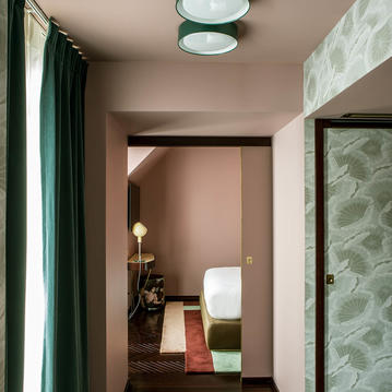 A Suite at the Hotel du Rond Point des Champs Elysees