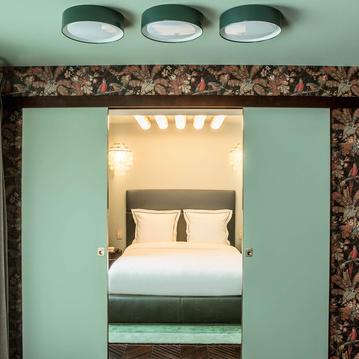 A Suite at the Hotel du Rond Point des Champs Elysees